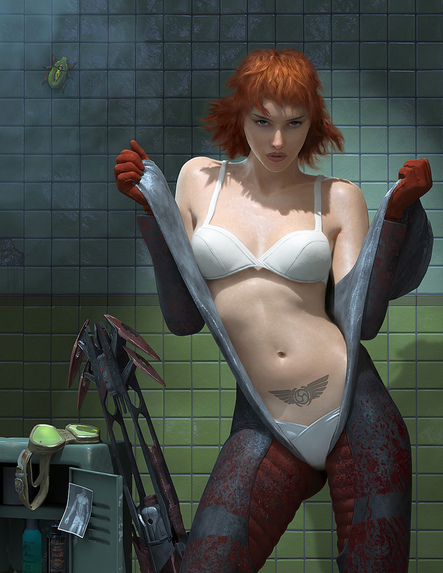 Girl characters in video games naked nude photo