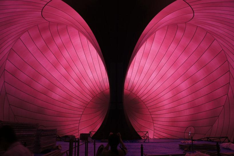 Ark Nova by Japanese architect Arata Isozaki