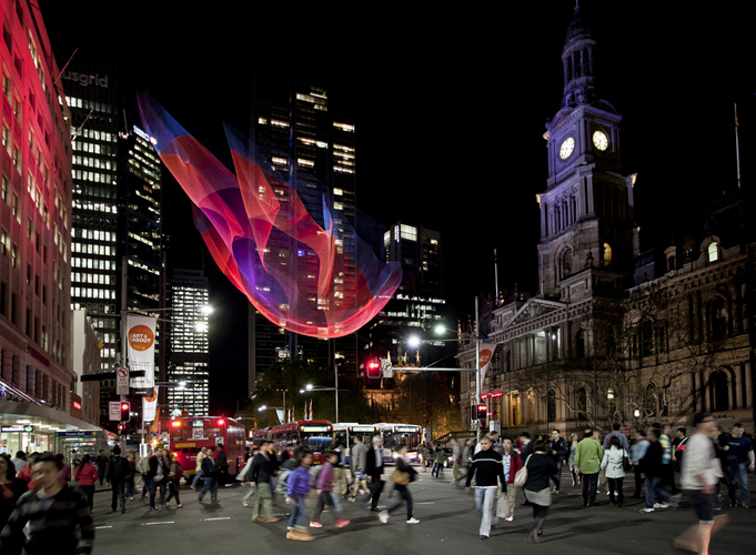 Art Installations by Janet Echelman