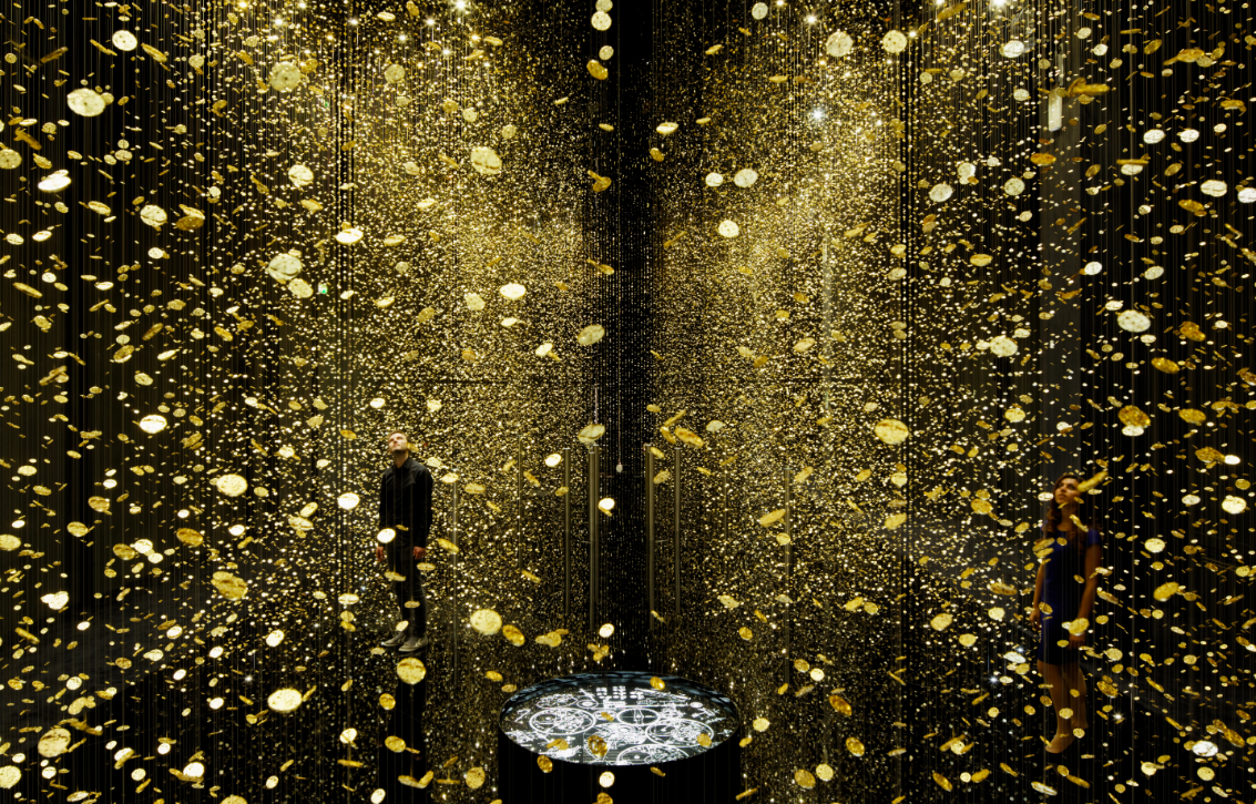 Light is Time by Tsuypshi Tane from DGT for Citizen at Milan Design Week