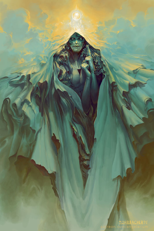 Angelarium by Peter Mohrbacher