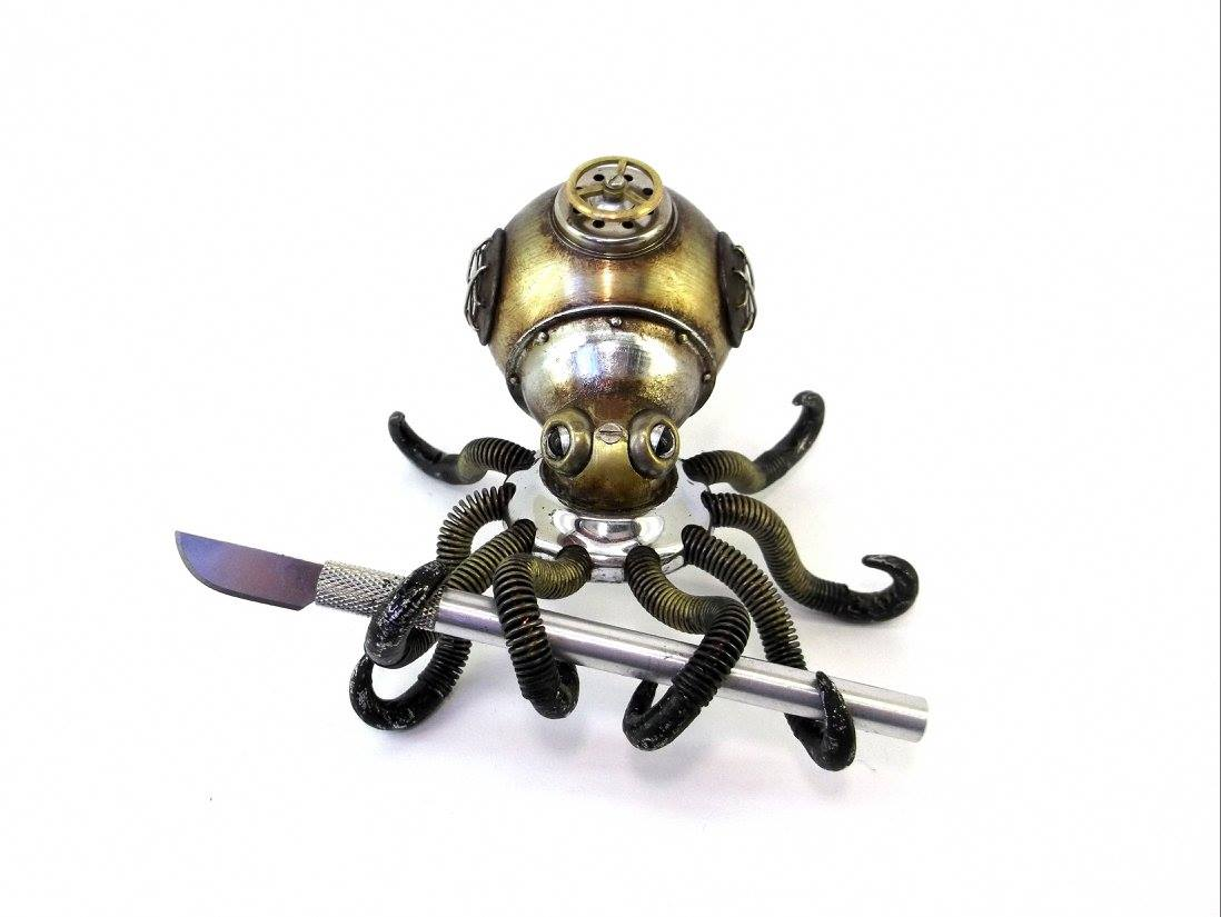 Steampunk Sculpture by Igor Verniy