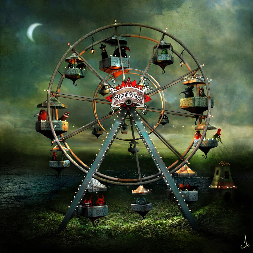 Artwork by Alexander Jansson