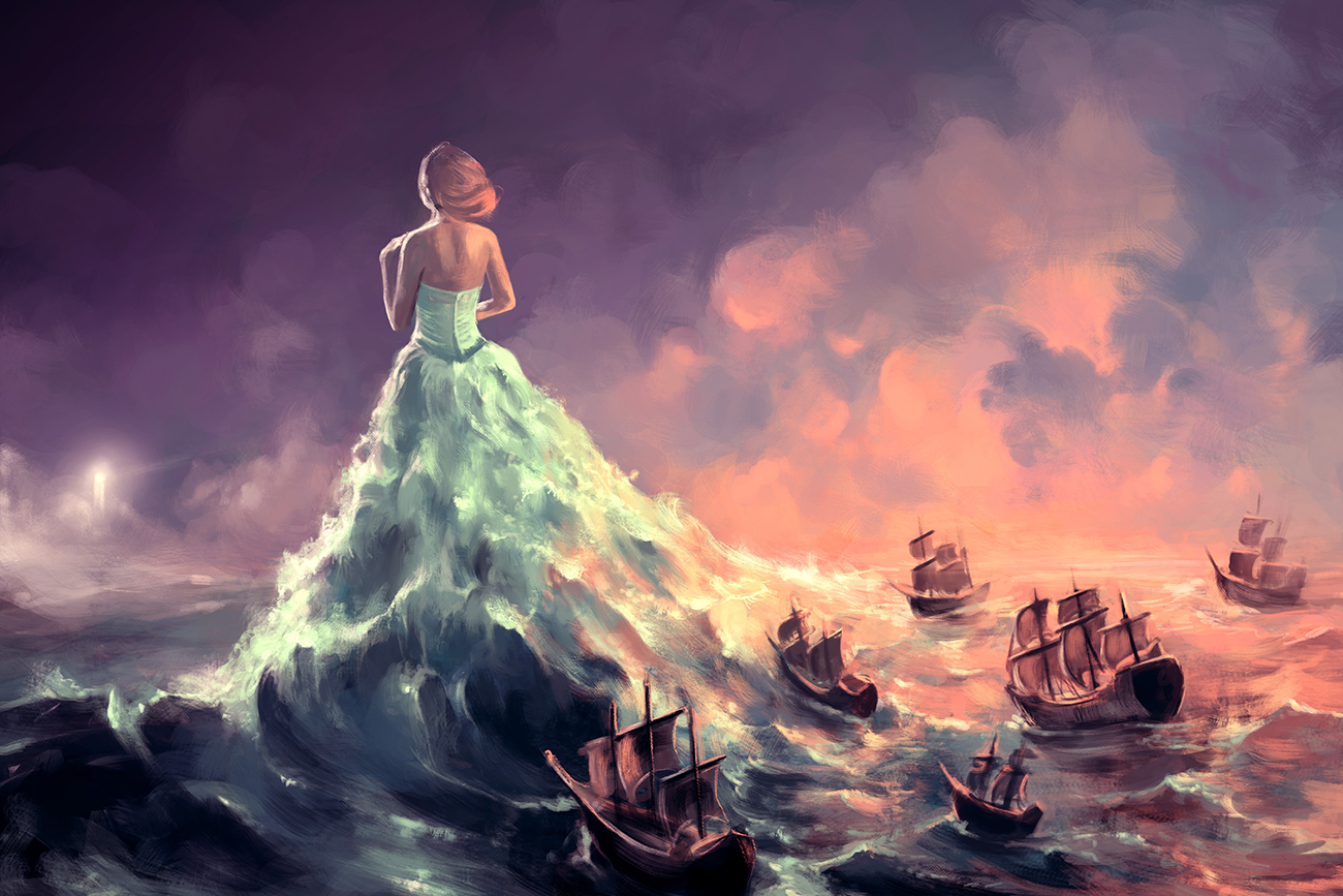 Concept Art by Cyril Rolando