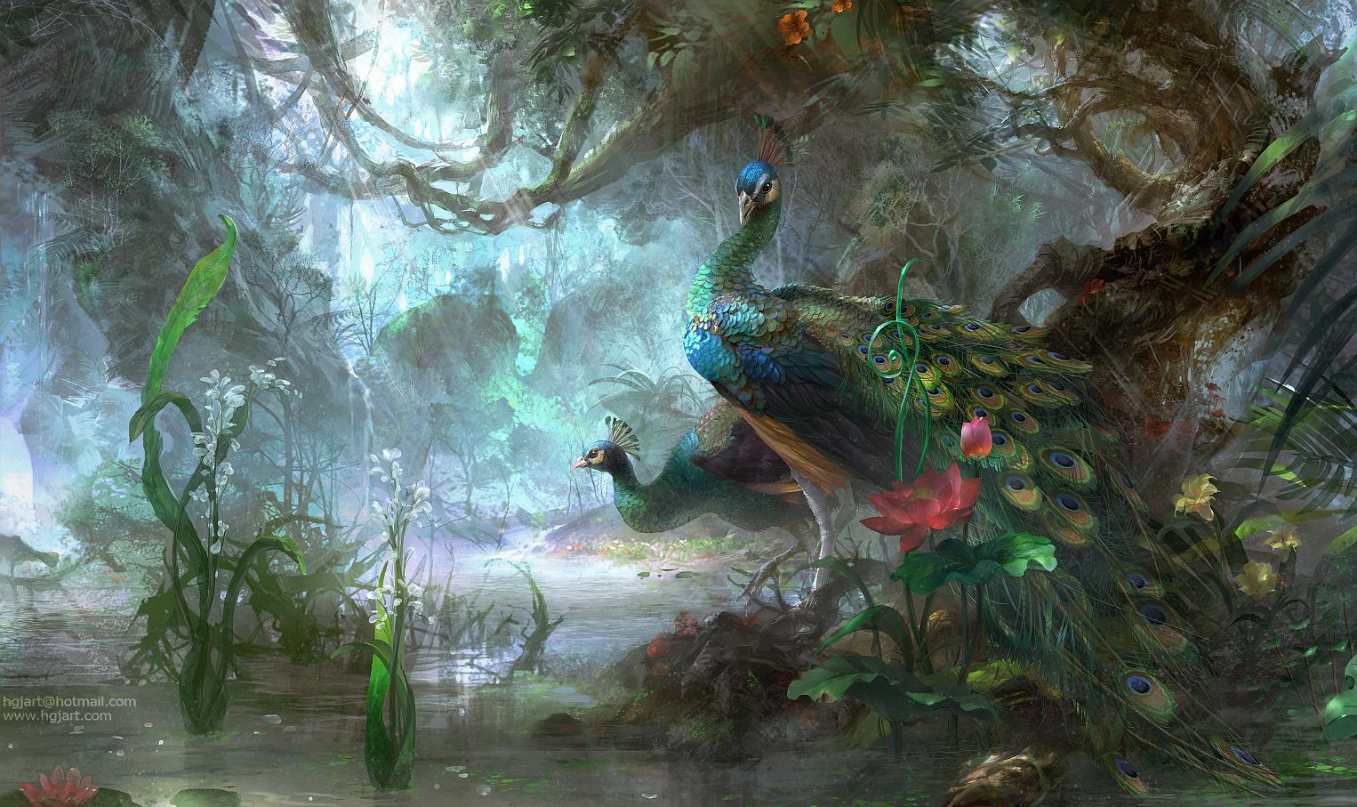 Artwork by Guangjian Huang