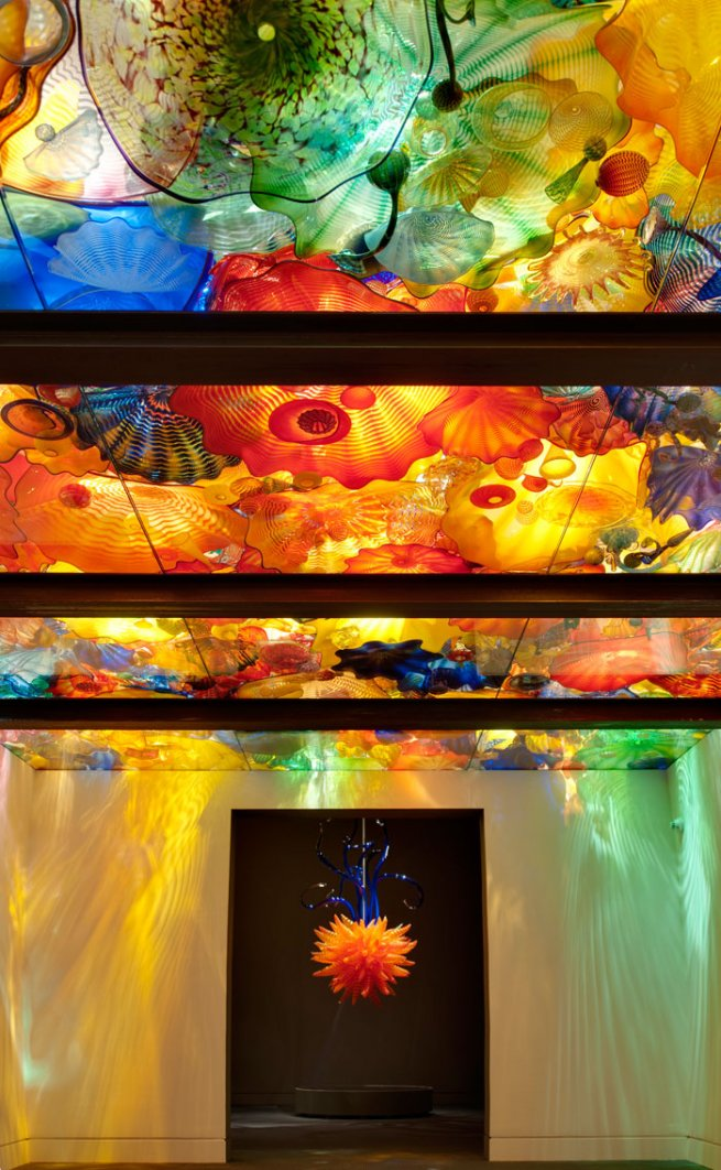 Artwork by Dale Chihuly