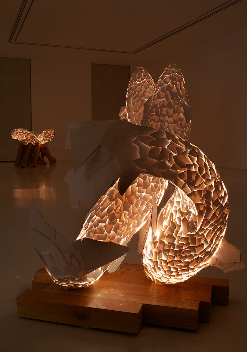 The Fish Lamps by Frank Gehry