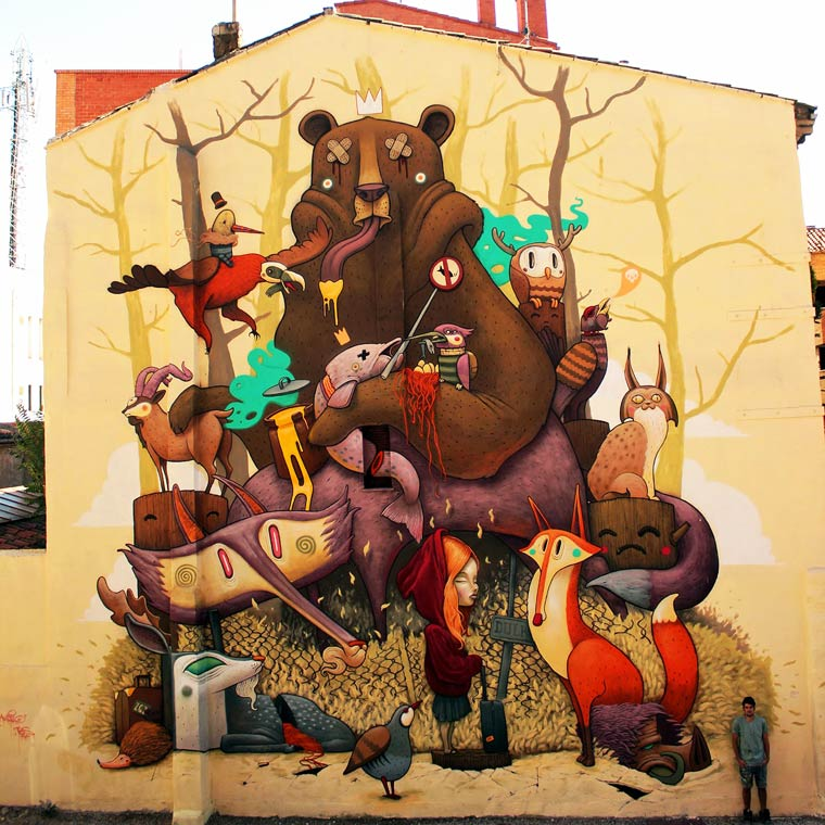 Street Art by Antonio Segura Donat