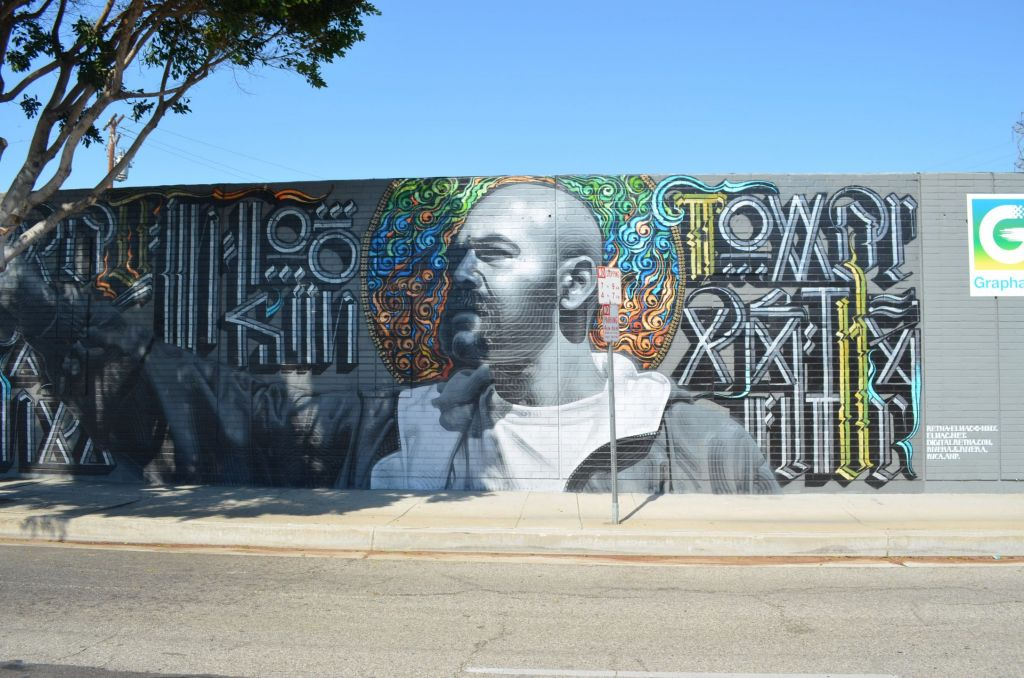 Street Art and Murals by El Mac and Retna