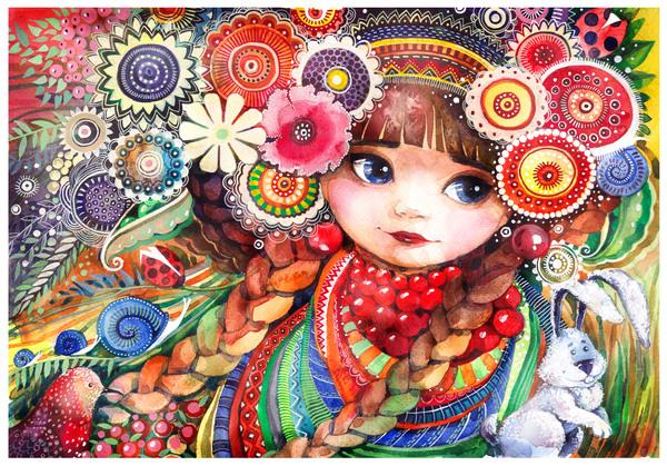 Wateercolor by Lesya Nedzelskaya