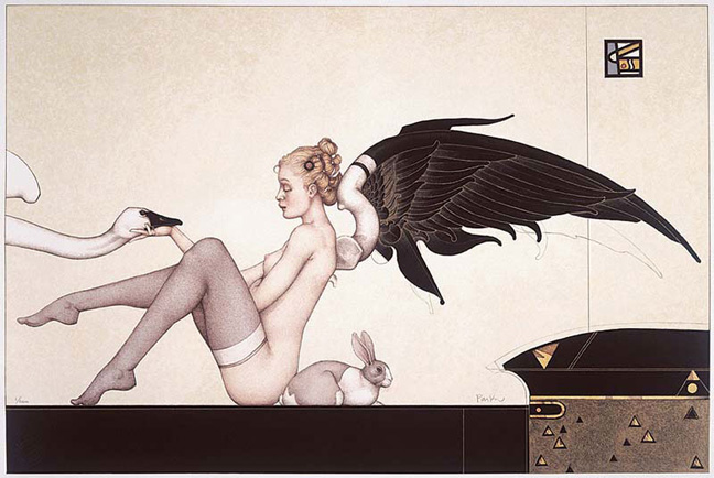 Artwork by Michael Parkes