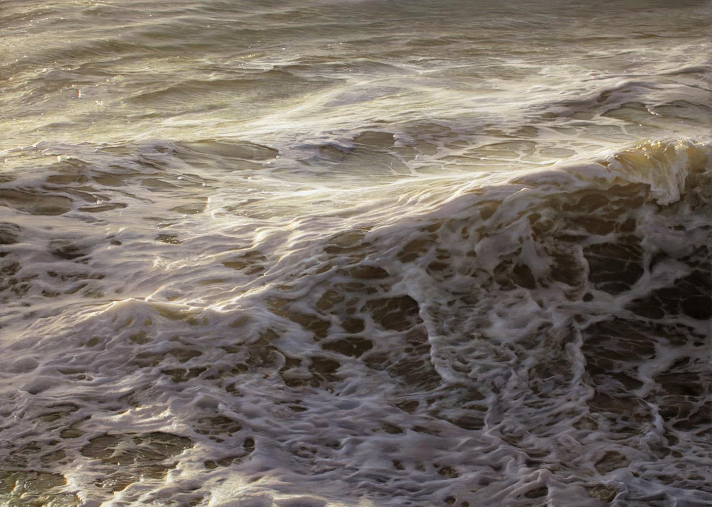 Photo realistic Wave Painting by Ran Ortner