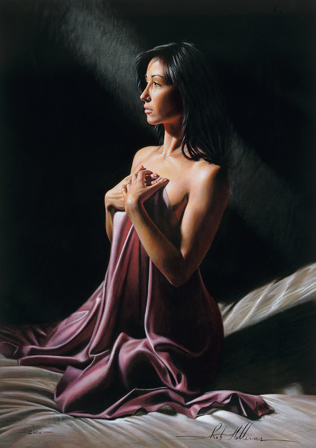 Hyperrealistic Portraits by Rob Hefferan