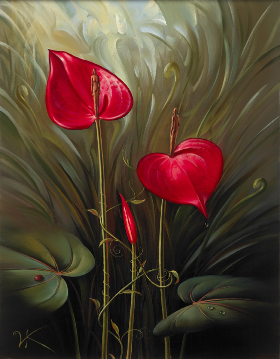 Artwork by Vladimir Kush