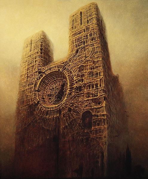 Surreal Realism by Zdzislaw Beksinski