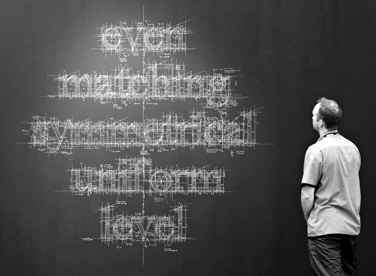 Typography by Liz Collini