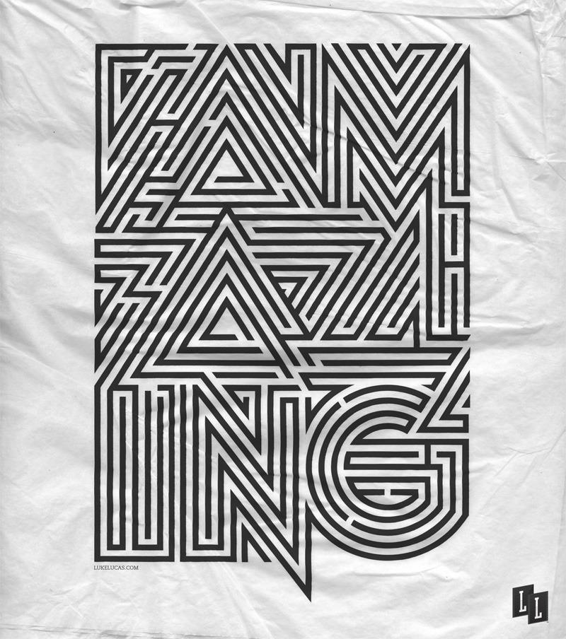 Typography by Luke Lucas