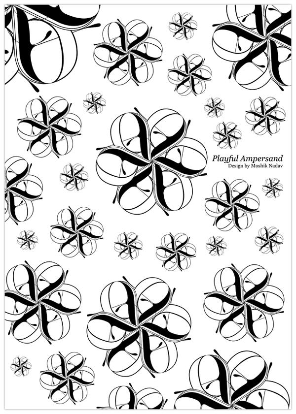 typography by Moshik Nadav