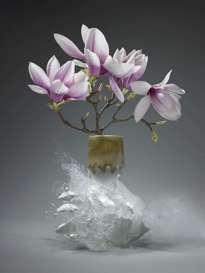 Flowervases by Martin Klimas