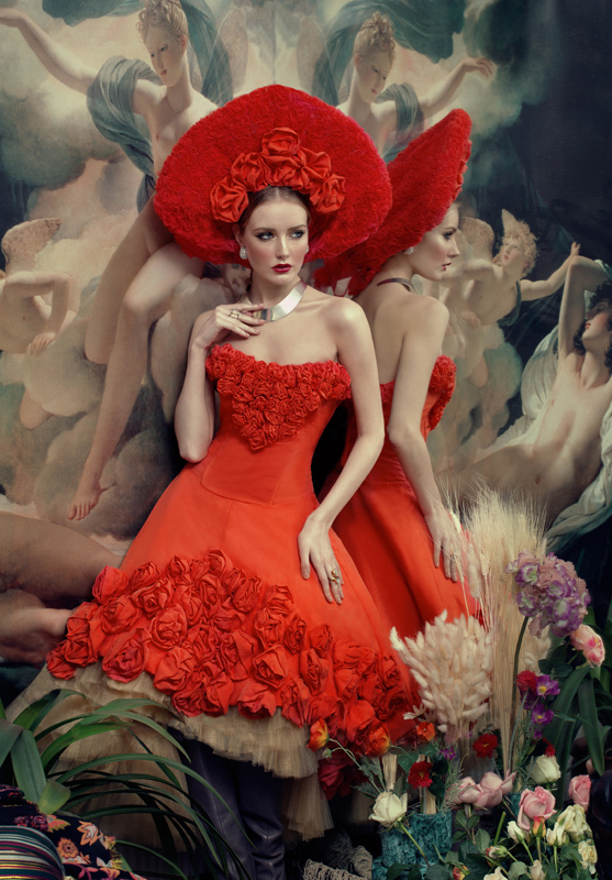 Fashion Photography by Andrey Yakovlev and Lilie Aleeva
