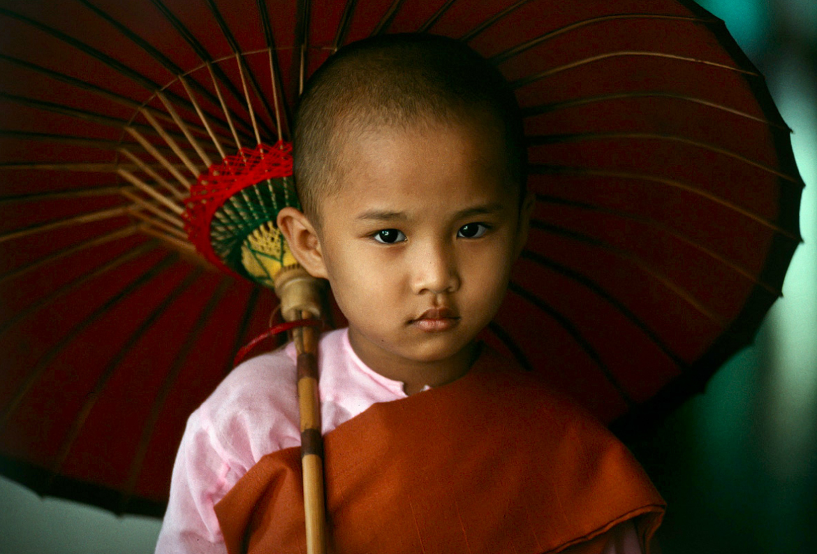 Buddhism by Steve McCurry